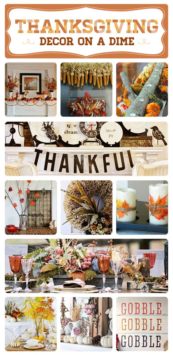 Decorating Ideas > 60 Inexpensive Thanksgiving Decor Ideas  Thanksgiving  ~ 121829_Thanksgiving Decor Ideas Diy
