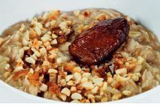 Bild zum Rezept  Porridge mit Mandeln und Dat