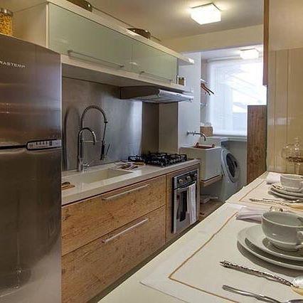 Cozinha maravilhosa! Apaixonada! ❤️ ⚠️ Participem do sorteio  ⚠️ #meuapedecor #inspiração #inspiration #decoração #decoration #apartamento #apartment #pinterest