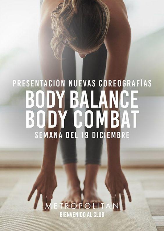 La próxima semana presentaremos las nuevas coreografías de Body Balance y Body Combat. ¡Te esperamos! Más información en la recepción de Metropolitan Begoña.