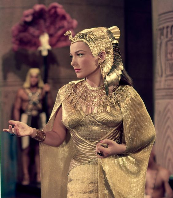 Anne Baxter in The Ten Commandments. (1956). The costume ...