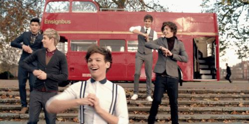 """In betweeners dance GO!"" -Tour Diary  This is from the One Thing Video thing though"