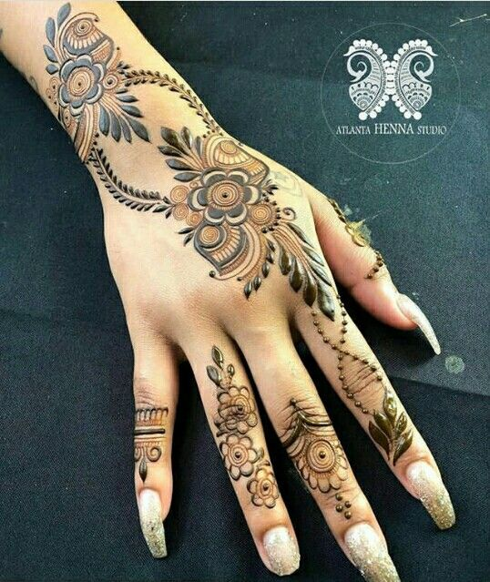 Pin By Vk On Mehandi Desgin Back Hand Mehndi Designs Mehndi Designs Mehndi Designs For Hands
