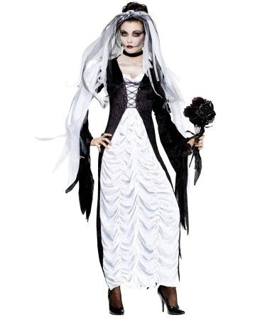 Bride of Darkness Womens Costume | HALLOWEEN AND HORROR