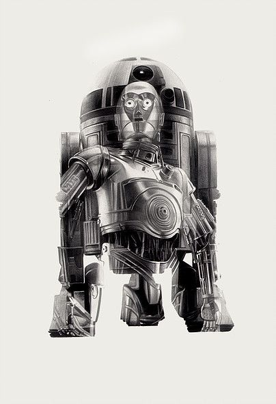 R2-D3PO by Greg Ruth