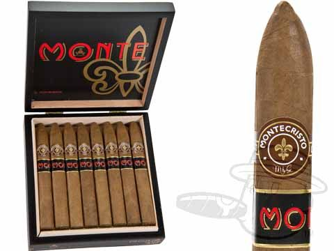 Monte by Montecristo Jacopo No. 2 6 1/8 x 54—Box of 16 - Best Cigar Prices