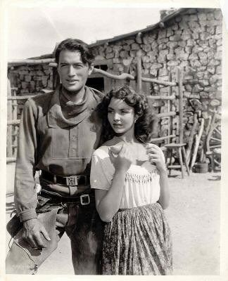 """Duel in the Sun"" (1946) - Gregory Peck & Jennifer Jones"