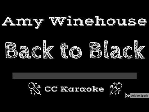 4 Amy Winehouse Back To Black Cc Karaoke Instrumental Lyrics Youtube In 2021 Karaoke Amy Winehouse Winehouse