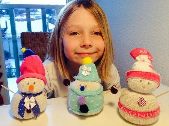 Juju Handcraft!: Bonhomme de neige