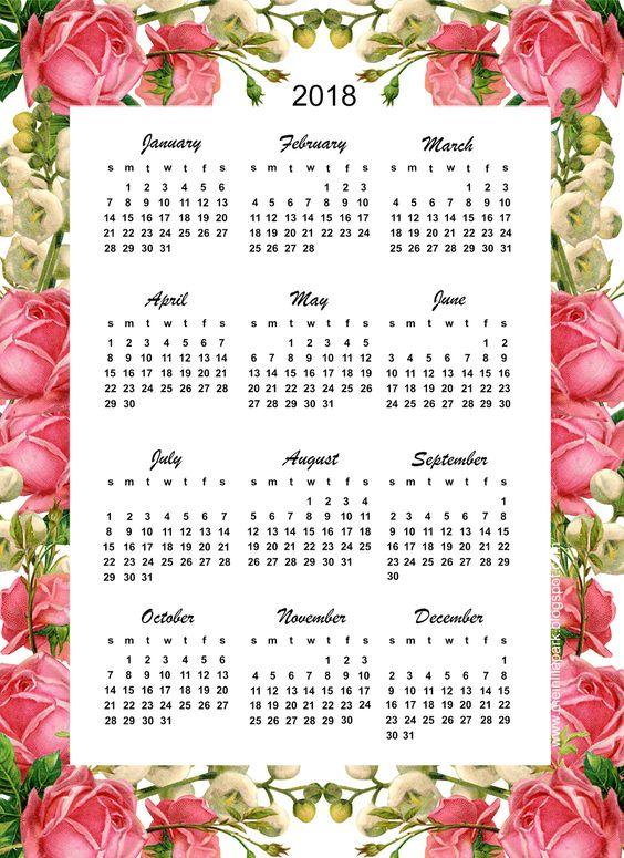 Ημερολόγια 2018