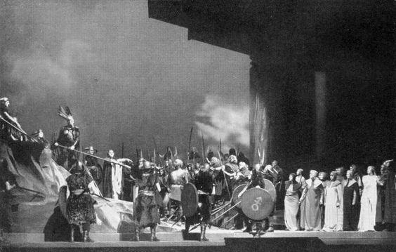 """"""" Götterdämmerung """" 2.Akt  Berlin Staatsoper 1936"""