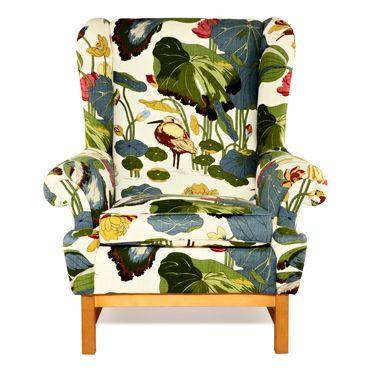 Wing Chair by Svenskt Tenn #Chair #svenskttenn....cool chair