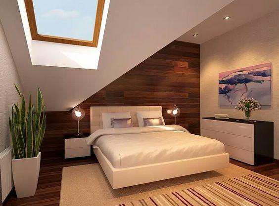 Muy simple pero linda habitación.