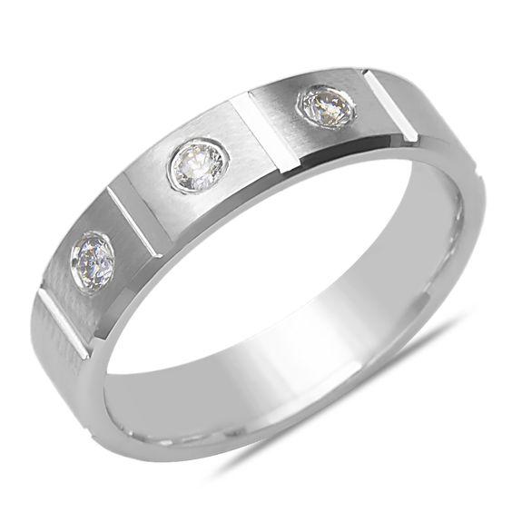 Ebay NissoniJewelry presents - Men's 1/5CT Diamond Solid Wedding Band in 14k White Gold    Model Number:GRV1288D-W476    http://www.ebay.com/itm/Men-s-1-5CT-Diamond-Solid-Wedding-Band-in-14k-White-Gold/321612164600