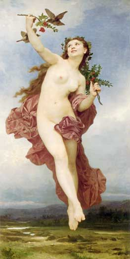 Hemera-The Goddess of Day, or rather she was its personification. She was a daughter of Nyx and Erebus. She and her mother shared a house (some say it was Tartarus), but they never saw each other in it. Hemera left it each morning, and returned only as her mother (the Night) left.