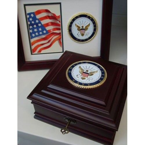 Navy Keepsake Box