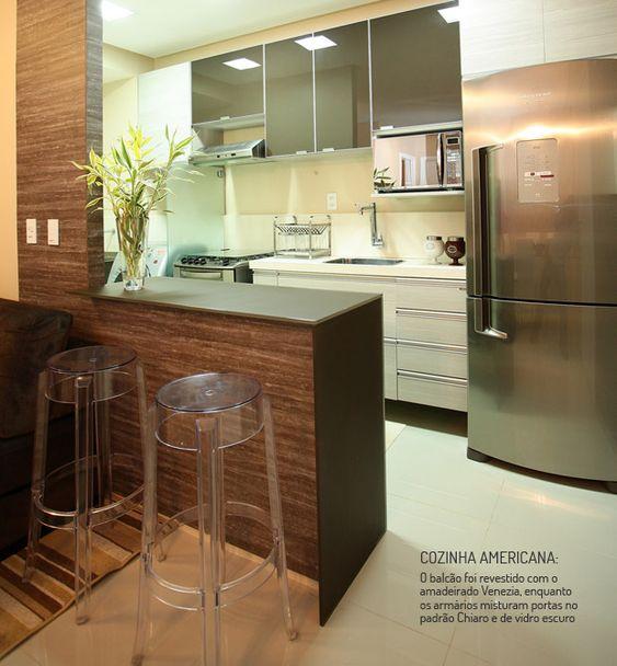 decoracao de sala e cozinha juntas simples: cozinha americana ems design de interiores interiores simples cozinhas
