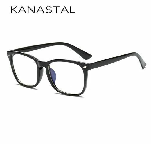 2x Anti Blue Light Glasses Computer Gaming Reading Transparent Eye