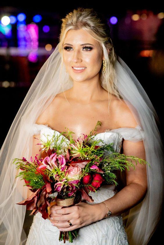 Noiva. Casamento Boho Chic | Anita e Breno