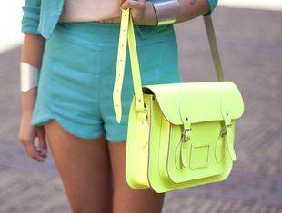 Amo estos colores..dan vida a cualquier outfit!♥