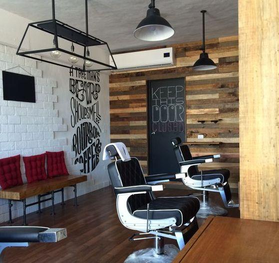 downtown las vegas hi rollers barbershop barbershop barber shop and barbershop ideas - Barbershop Design Ideas