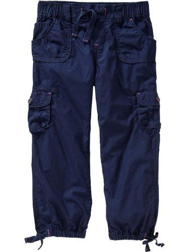Old Navy Girls Poplin Cargo Capris Old Navy,http://www.amazon.com ...