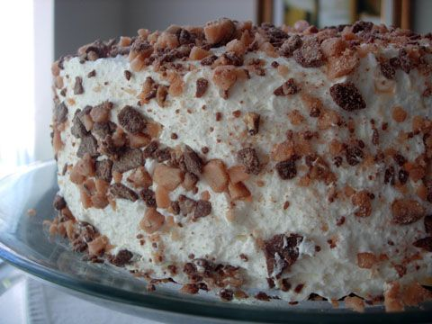 the cream angel food cake food cakes addiction foodies frostings angel ...