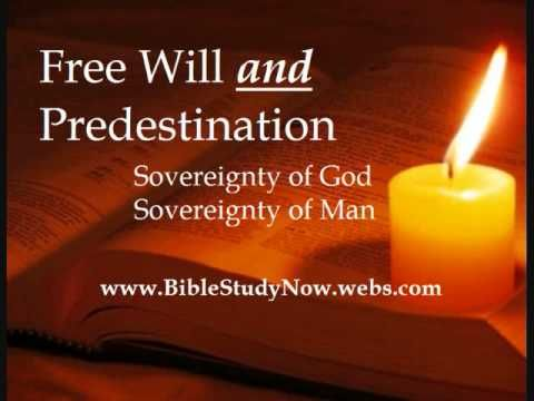 free will vs predestination Free will vs predestination name:instructor:course:date:free will is a term that can be used to explain the ability of a person to act at his or her own.