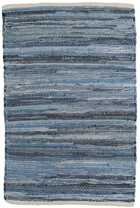Fine Denim Rag Woven Cotton Rug Dash Albert In 2020 Rugs On Carpet Denim Rag Rugs Cotton Rug
