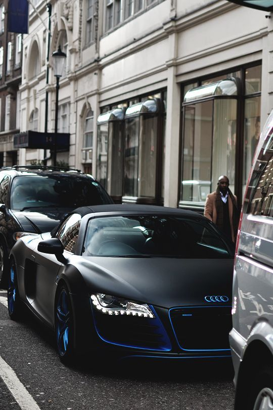 Audi R8 Matte Black Price : matte, black, price, Matte, Black, Details, Supercars, Gallery