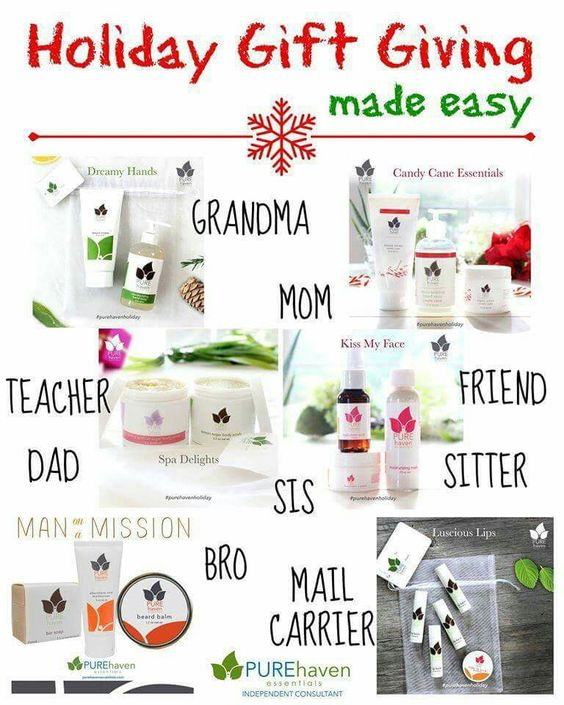 great holiday gift ideas pure haven essentials pinterest