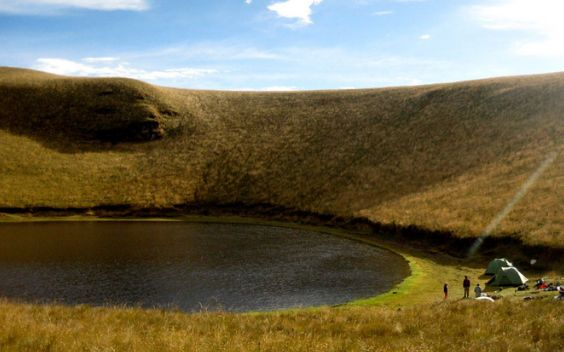 Read how to get to Cubilche volcano