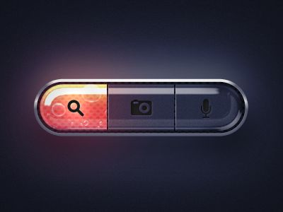 Dribbble - UI Lava Tabs by Dash - via http://bit.ly/epinner