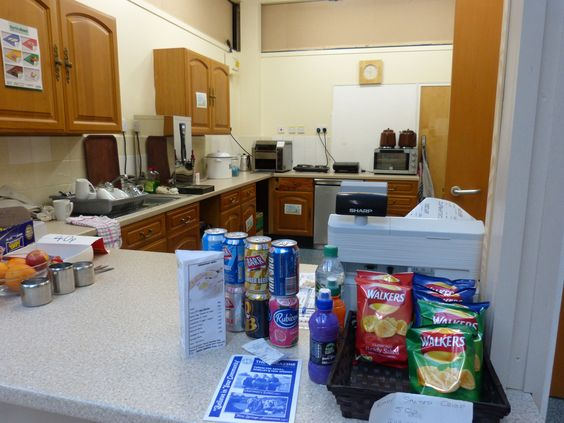 The Peoples Cafe at Sunshine House, we sell a variety of products.
