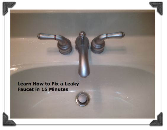 Fix a Leaky Moen Bathroom Faucet in less than 15 minutes from Home ...
