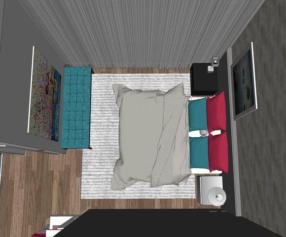 Projeto do escritório Atelier da Reforma - Estudo do projeto no programa SketchUp