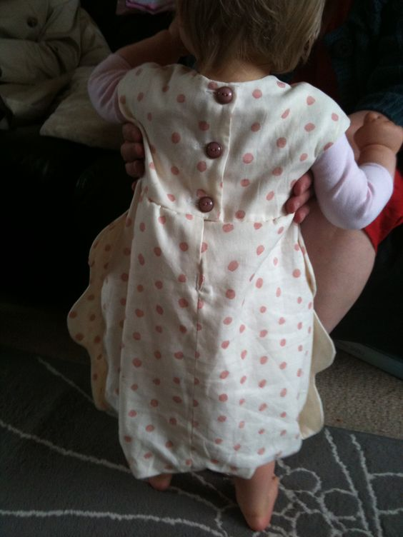 The back of Moo's new dress x