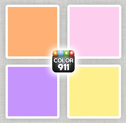 Redecorating a daughters room? Here are some fresh colors with a sweet side to them :) For color inspiration: Color911.com #colorapp #color #design