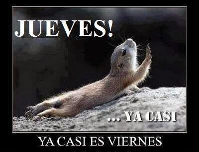 #Buenosdías no desesperes... ya casi es #viernes , así que solo te falta un pequeño esfuerzo más y ya... <img src=