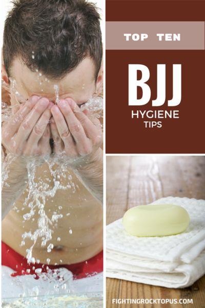 10 tips for good jiu-jitsu hygiene -- good to remember!