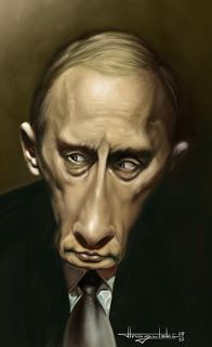 Patrick Strogulski Caricatures Wladimir Wladimirowitsch Putin
