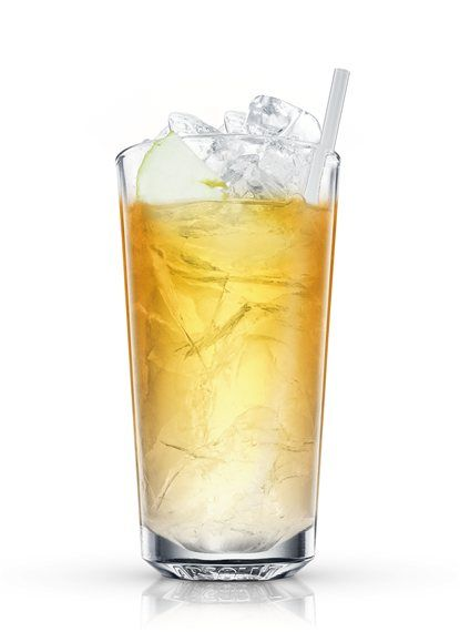 with ice cubes. Add ABSOLUT Vanilia. Topup with apple juice and ginger ...