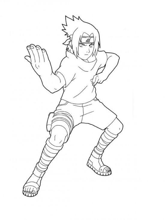 Naruto Coloring Pages Sasuke Uchiha Naruto Drawings Horse Coloring Pages Anime Drawings Sketches