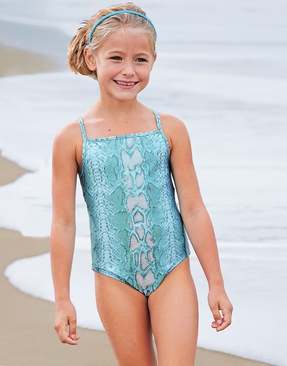 From CWDkids: Metallic Snake Swim Suit | Surf, Sand ...