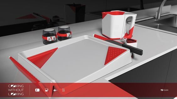 Industrial Design - cooking without looking