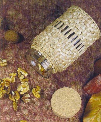 Cester a en papel de peri dico cester a china p g 29 - Manualidades con papel periodico ...