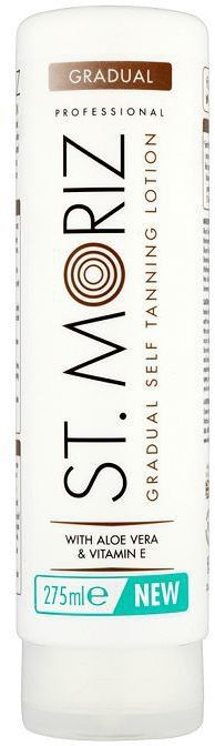 Pin for Later: Get the Glow With the 10 Best Gradual Tanners St. Moriz Gradual Self Tanning Lotion