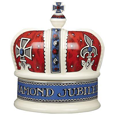 Buy Emma Bridgewater Diamond Jubilee Crown Jar online at JohnLewis.com - John Lewis