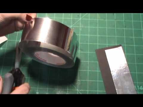 How To Make Foil Tags