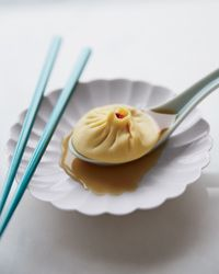 Pork-and-Crab Soup Dumplings Recipe on Food & Wine